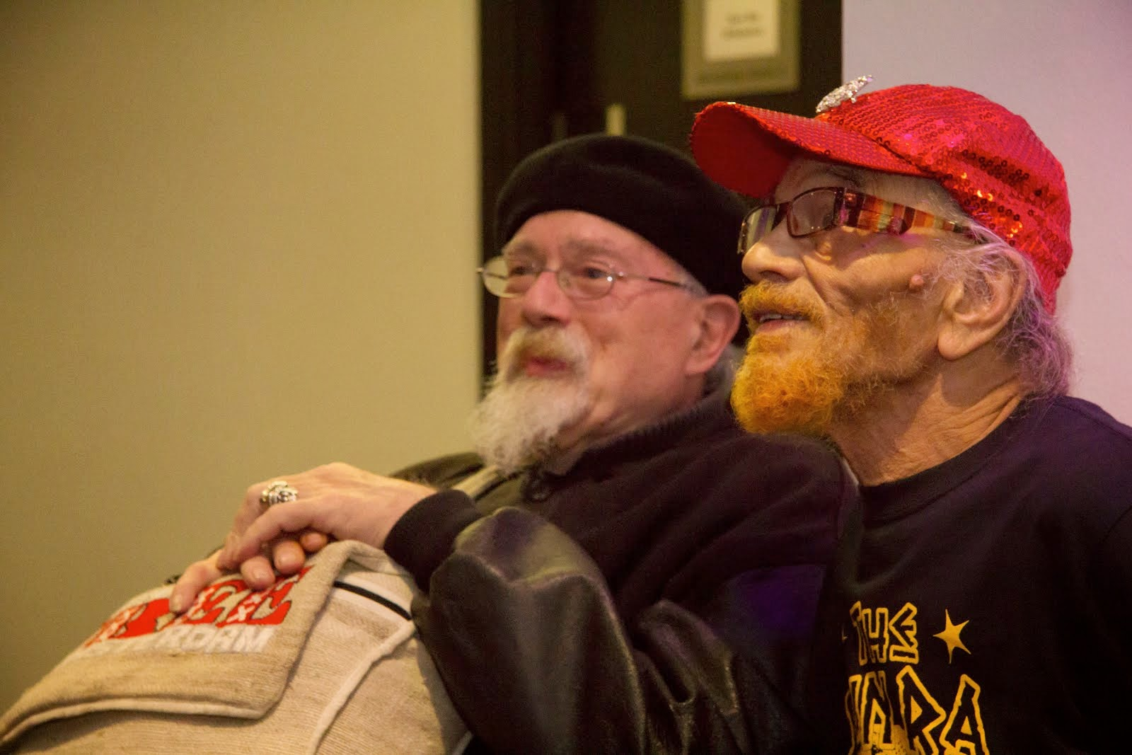 Sinclair with Marshall Allen 2014