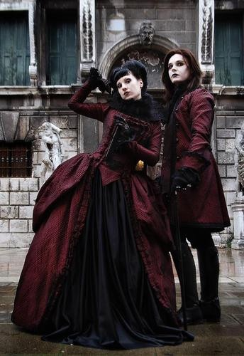 devilinspired gothic victorian dresses march 2013