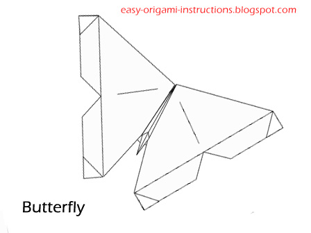 Origami Instructions Butterfly Origami Instructions Folding