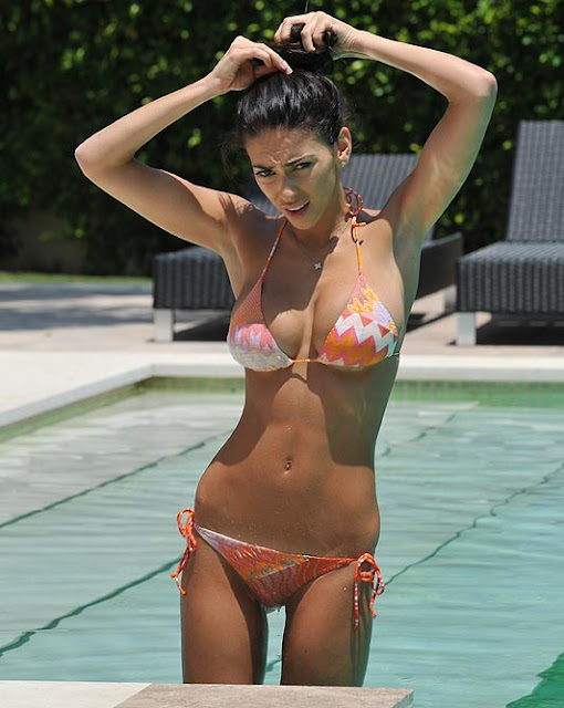 georgia salpa hot bikini stills