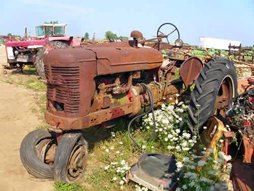 Farmall Tractor Parts Salvage : Tractor combine salvage list