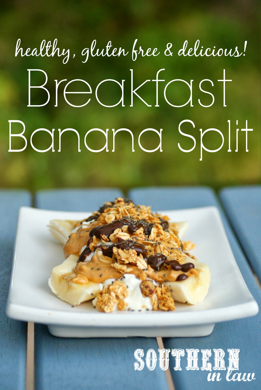 Healthy Banana Split Recipe - Gluten free, low fat, clean eating friendly, sugar free - Healthy Breakfast Recipes
