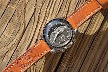 Ralph's Speedmaster on 1965 Swiss Ammo strap