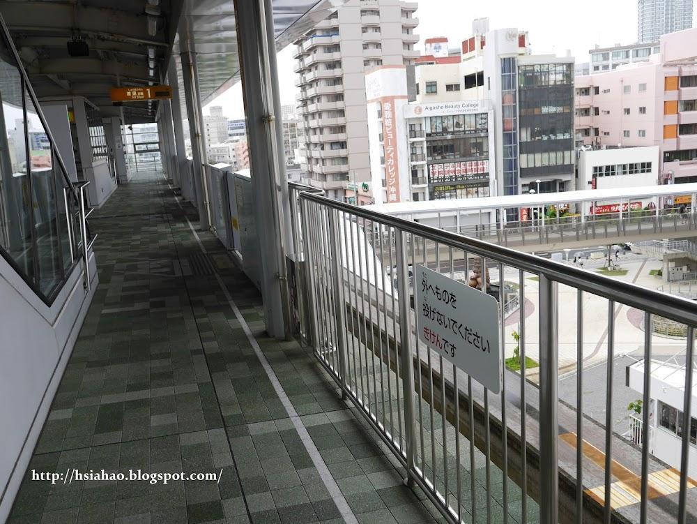 沖繩-交通-單軌電車-電車站-月台-自由行-旅遊-旅行-Okinawa-yui-rail- transport-train
