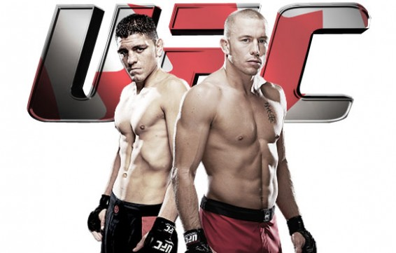 Georges St-Pierre y Nick Diaz