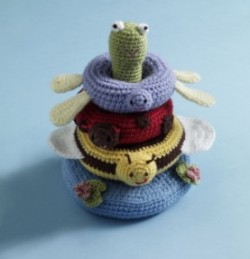 Free Amigurumi Patterns For Babies : Free Amigurumi Patterns: Stacking Rings for Baby