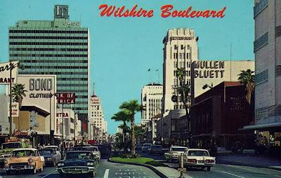 Wilshire Boulevard postcard