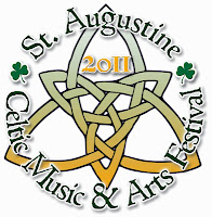 The Irish are Coming! The Irish are Coming! 10  celtic LOGO 2011 festival St. Francis Inn St. Augustine Bed and Breakfast