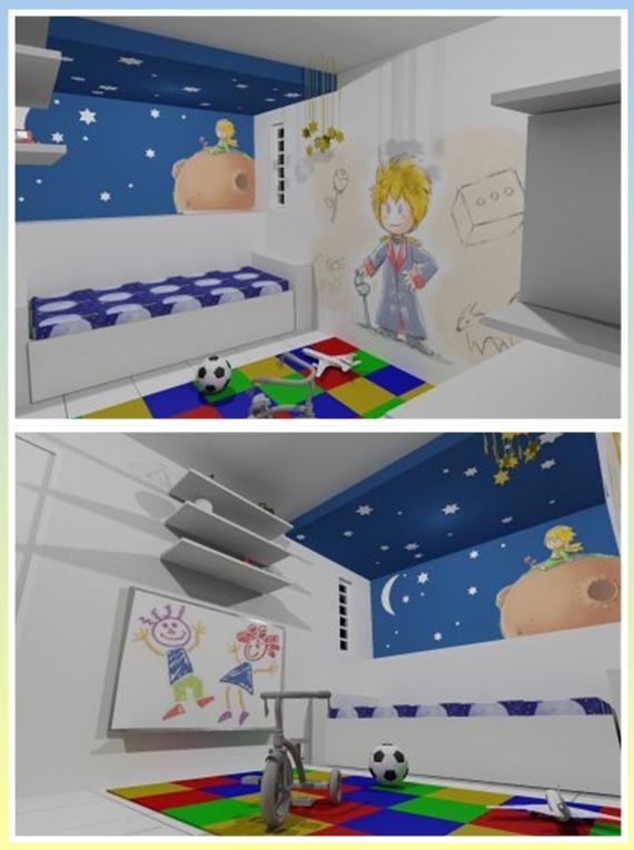 Quarto Infantil O Pequeno Principe ~   pitacosdemulherzinha blogspot com br 2012 03 o pequeno principe html