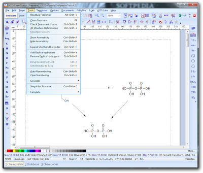 Free chemical drawing software | ACD/ChemSketch