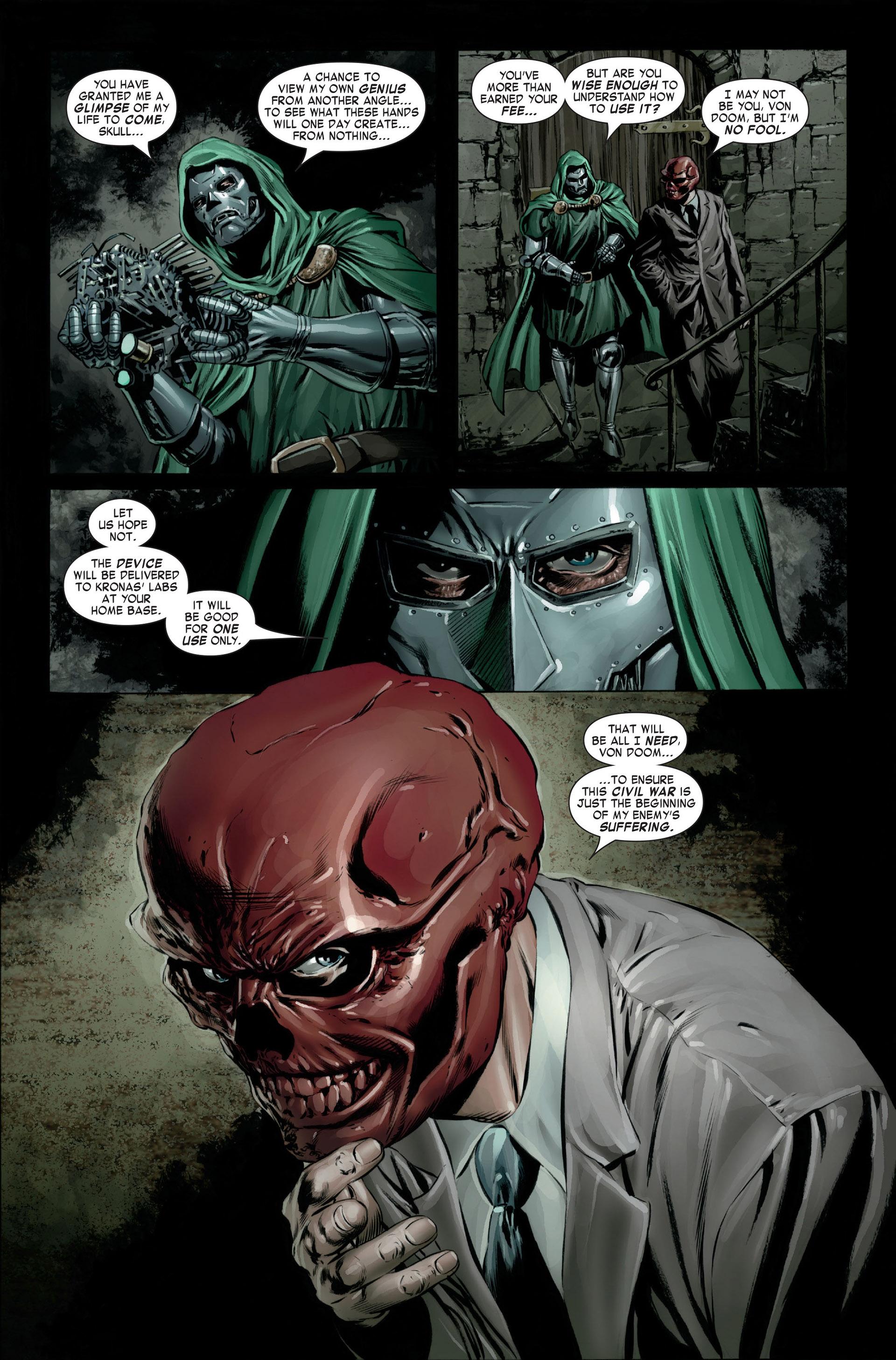Captain America (2005) Issue #23 #23 - English 23