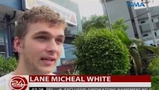 Lane Michael White narrating his experience inside the NAIA Terminal.