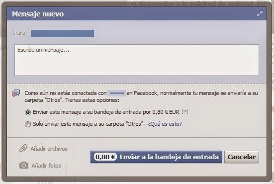 pagar por mensaje facebook