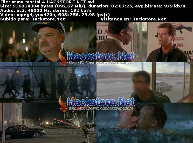 Captura Arma Mortal 4 (1998) DVDRip Latino