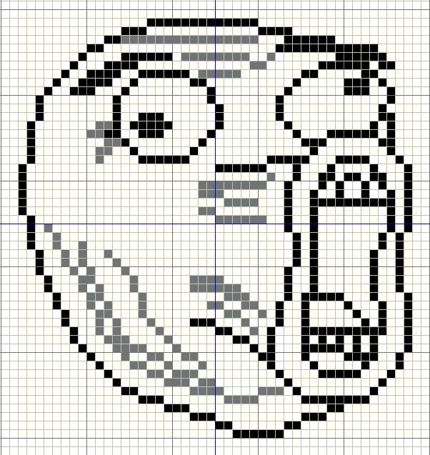 Minecraft Pixel Art Grid Troll Face Buzy Bobbins: Lol Guy ...