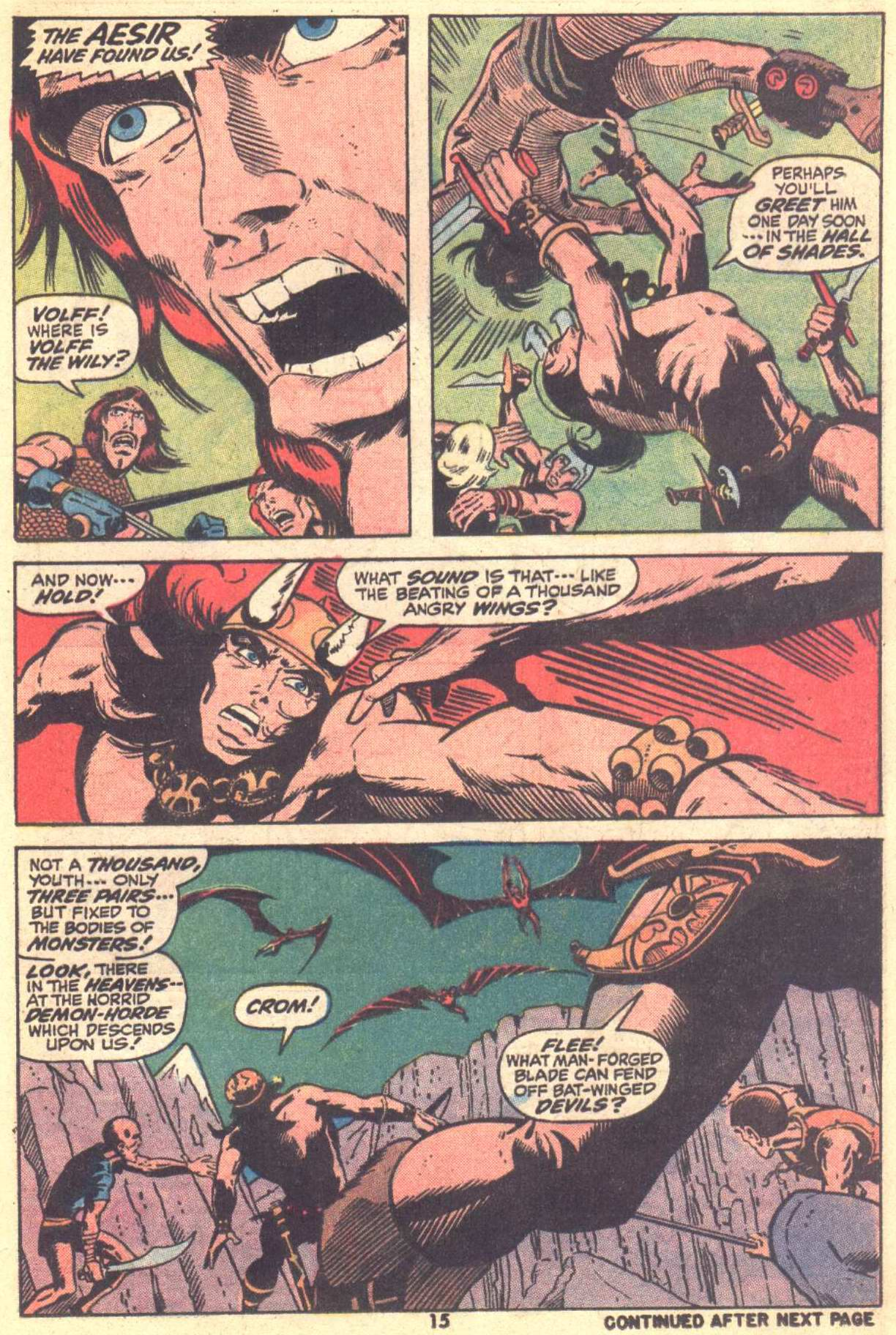 Conan the Barbarian (1970) Issue #22 #34 - English 12