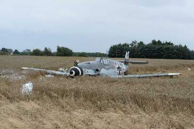 Messerschmitt, 109, downed, crashed, denmark, picture