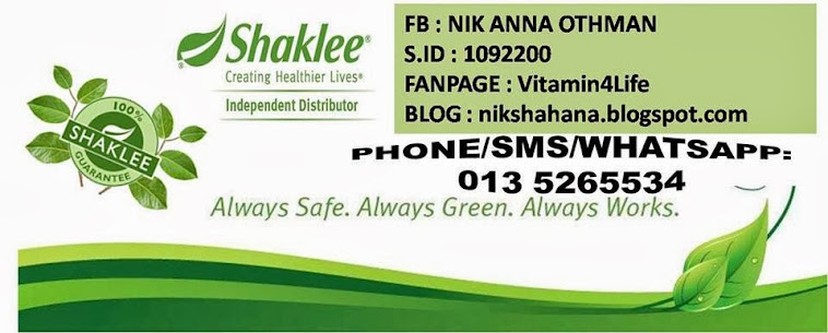 Pengedar SHAKLEE di KOTA BHARU, the best vitamin