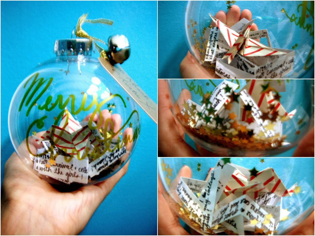 Variety O' Variety Blog: DIY Personalize Christmas Ornament