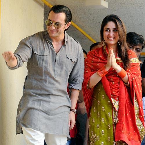 saif ali khan and kareena after marriage