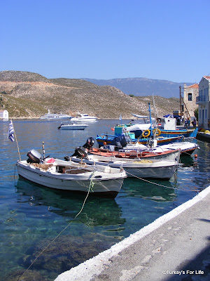 Kastellorizo or Meis Harbour
