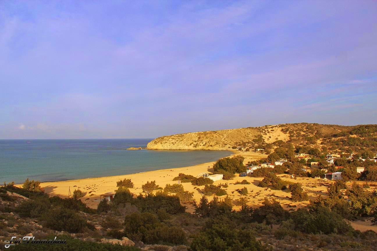 Sarakiniko beach, Gavdos - Παραλία Σαρακήνικου, Γαύδος