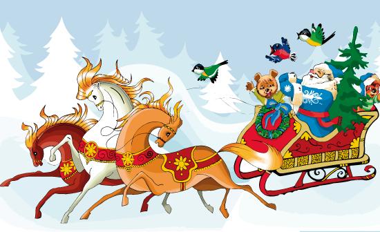 Santa Claus estilo nórdico
