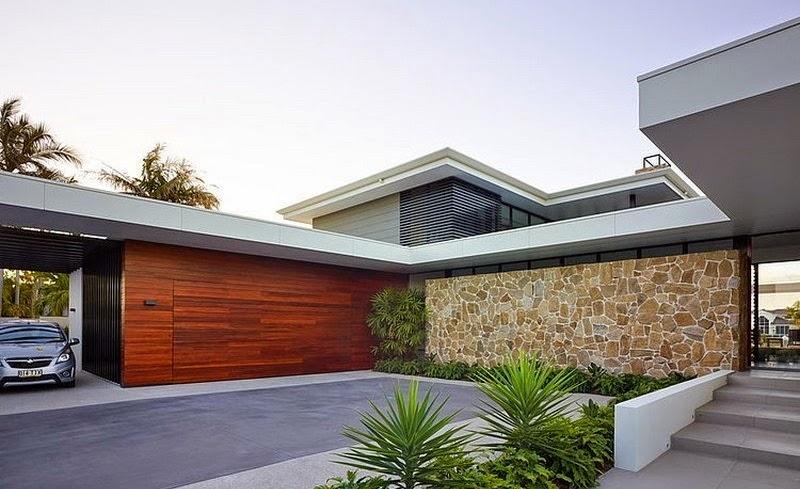 Casa moderna riverfront bda architecture broadbeach for Arquitectura contemporanea casas