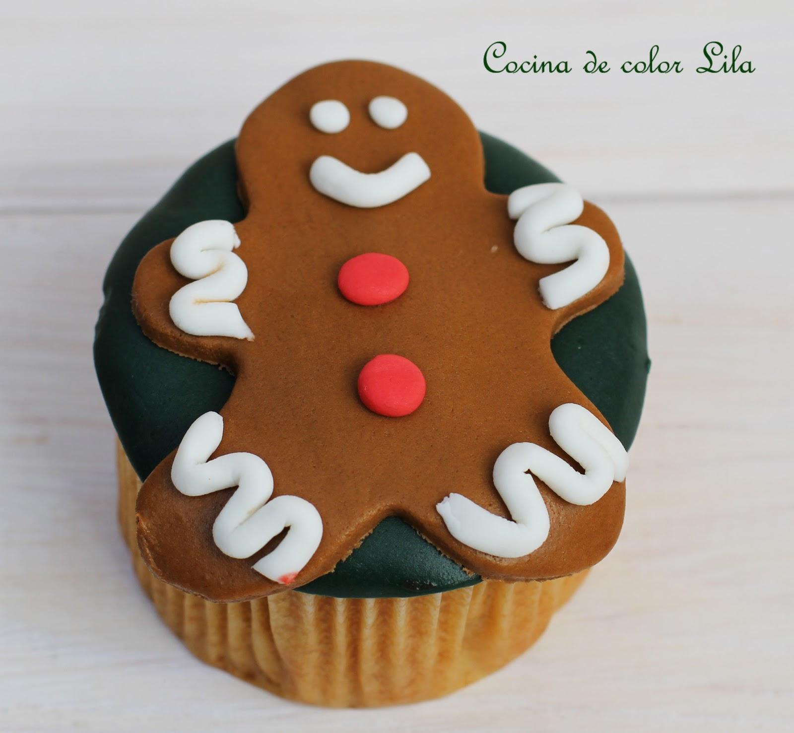 Cocina de color lila ideas cupcakes navide os - Cocina color lila ...