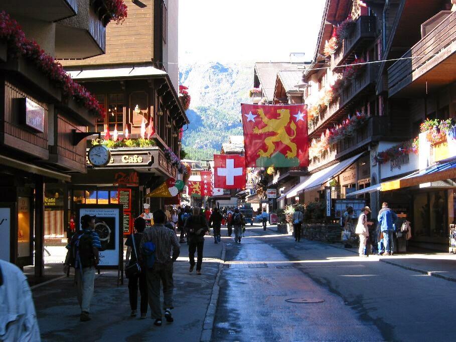 أجمل قرى سويسرا زيرمات