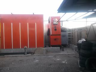 Nuova Cabina forno verniciatura Puntocar