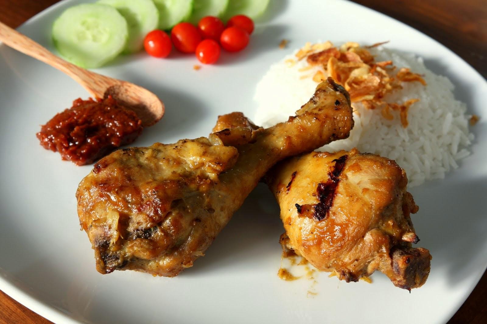 Ayam Panggang Klaten [ Klaten BBQ Chicken ]