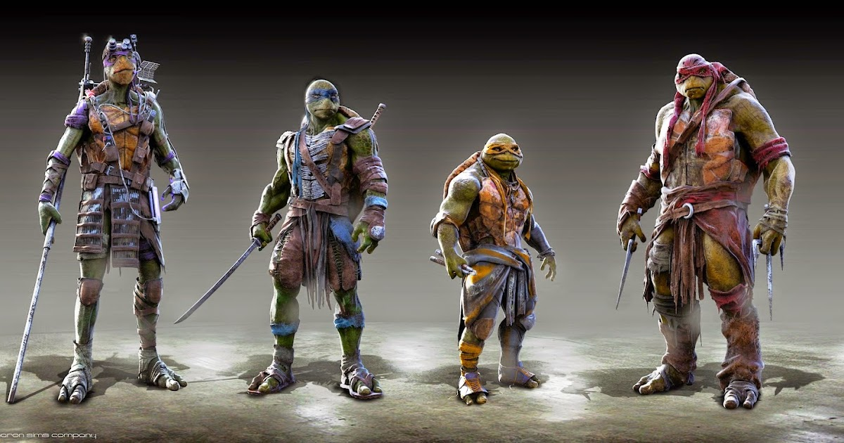 Michael Bay Teenage Mutant Ninja Turtles Concept Art