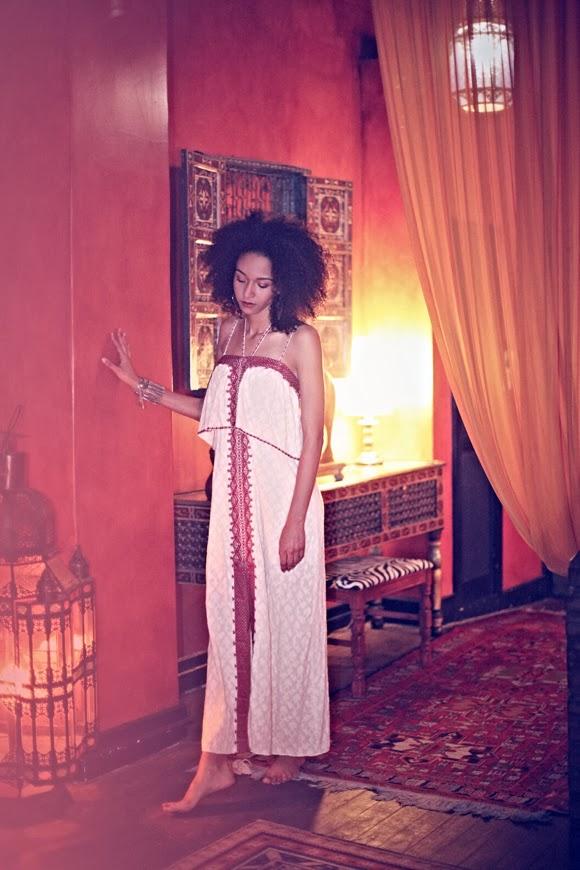 Black Bohemian Girl Free People Morocco Amp Natural Hair