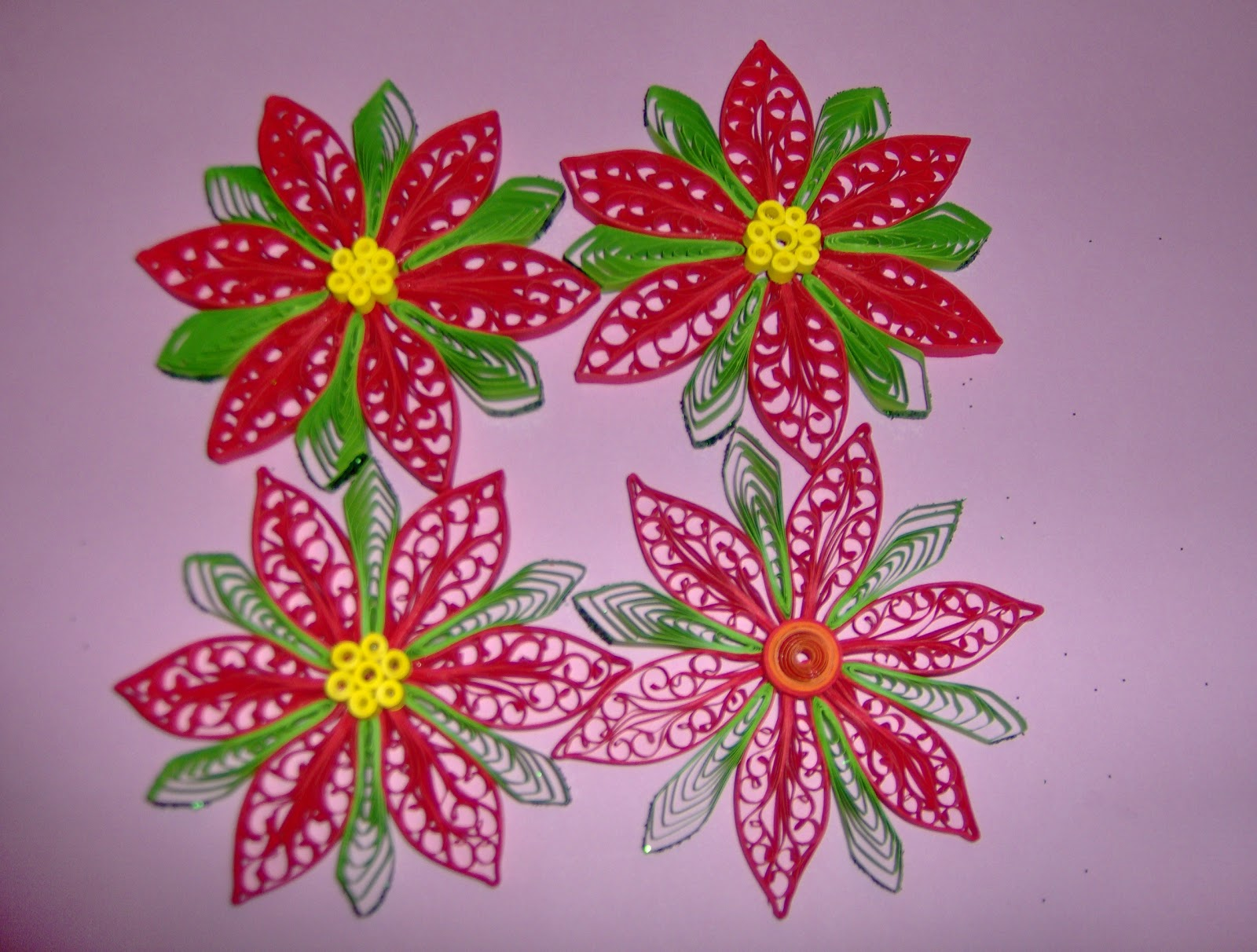 Tinyworks decorazioni natalizie stelle di natale - Decorazioni stelle di natale ...
