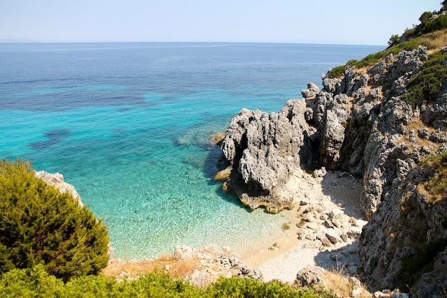 Kako Lagadi Beach, Kefalonia Greece