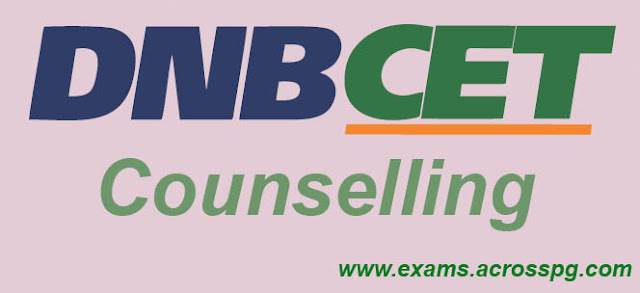 DNB CET Counselling starts today. Updated Seat Matrix available on NBE website
