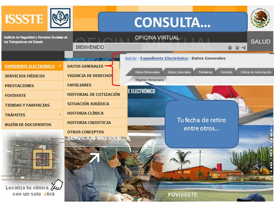 Zona 14 telesecundarias oficina virtual del issste for Oficina virtual del