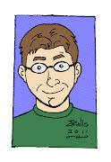 Here's a cartoon self portrait I drew recently. I previously drew myself in .