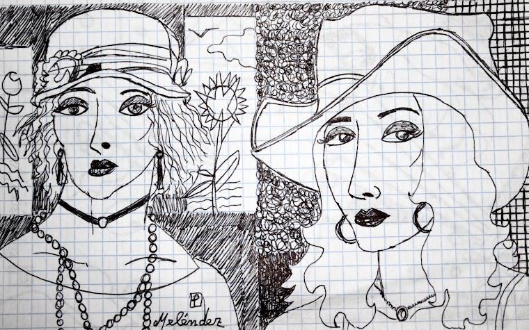 Señoritas con sombrero