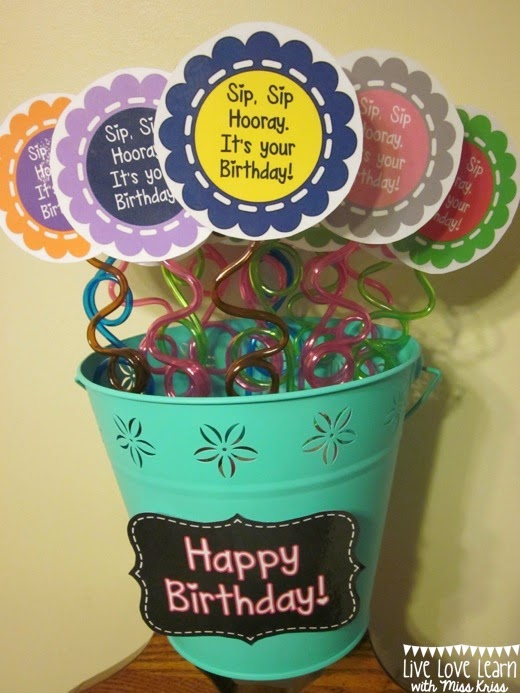 http://www.teacherspayteachers.com/Product/Happy-Birthday-StrawPencil-Toppers-770056