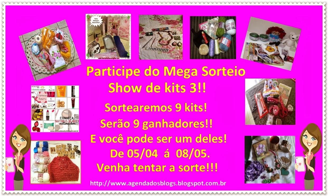 Mega Sorteio sShow de Kits