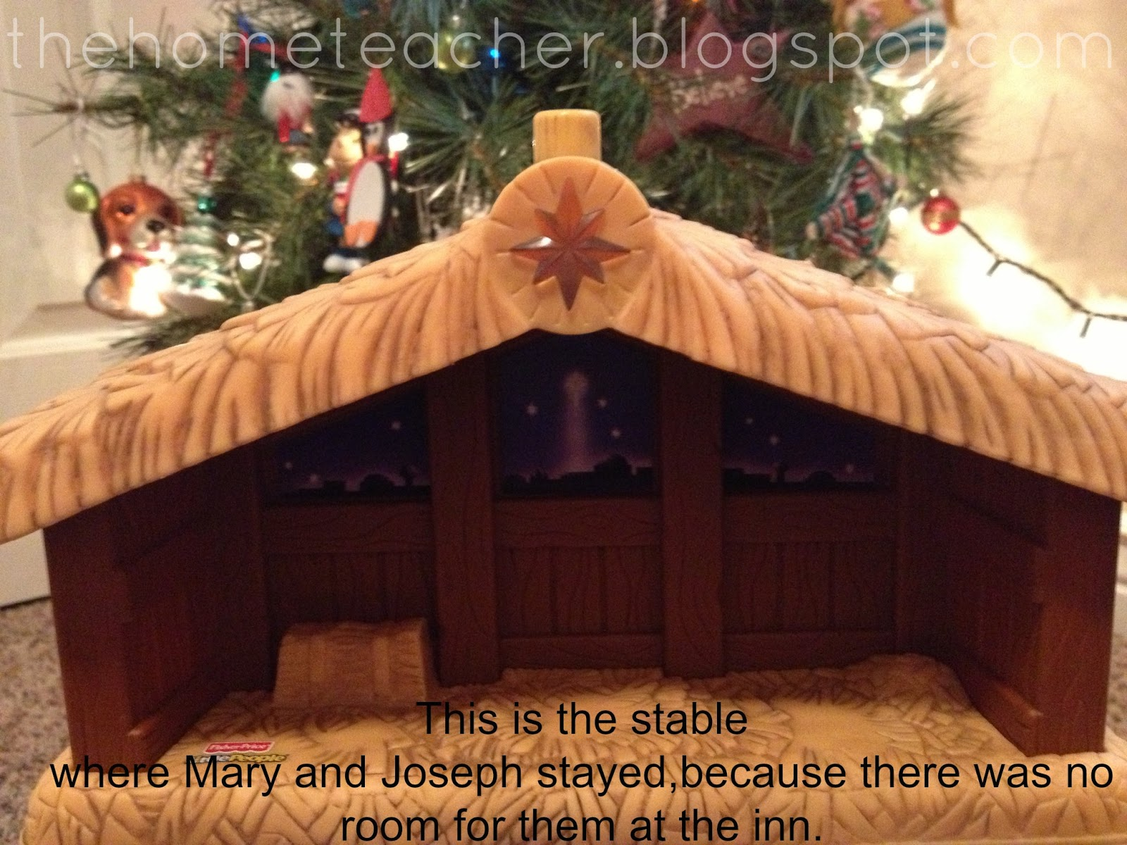 Learningtime archives the home teacher the little people nativity is perfect for this if you press on the stable it plays away in a manger then you can just sing along solutioingenieria Image collections