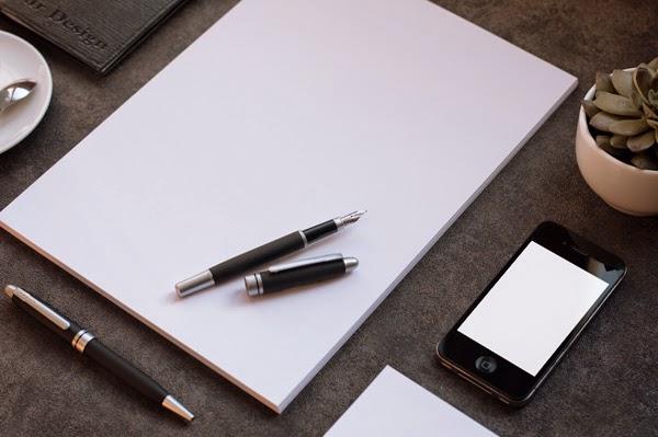 Download Branding Stationery Mockup Gratis - BUSINESS STATIONERY MOCKUPS BY QEAQL