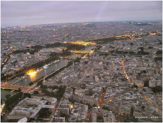 paris lit up