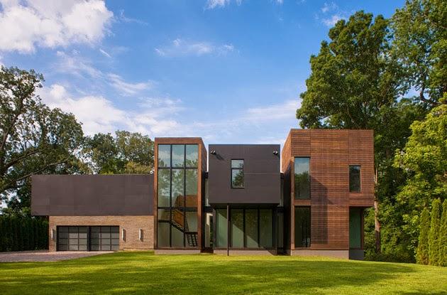 desain rumah unik minimalis images
