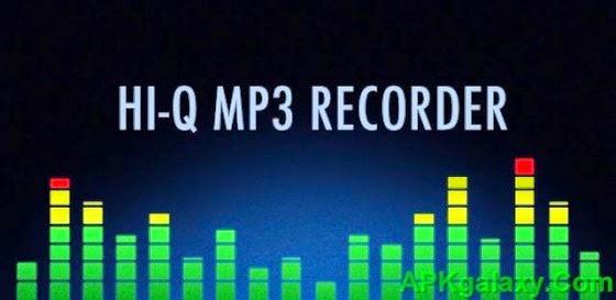 Hi - Q MP3 Voice Recorder v1.16.1 Apk App Full Download