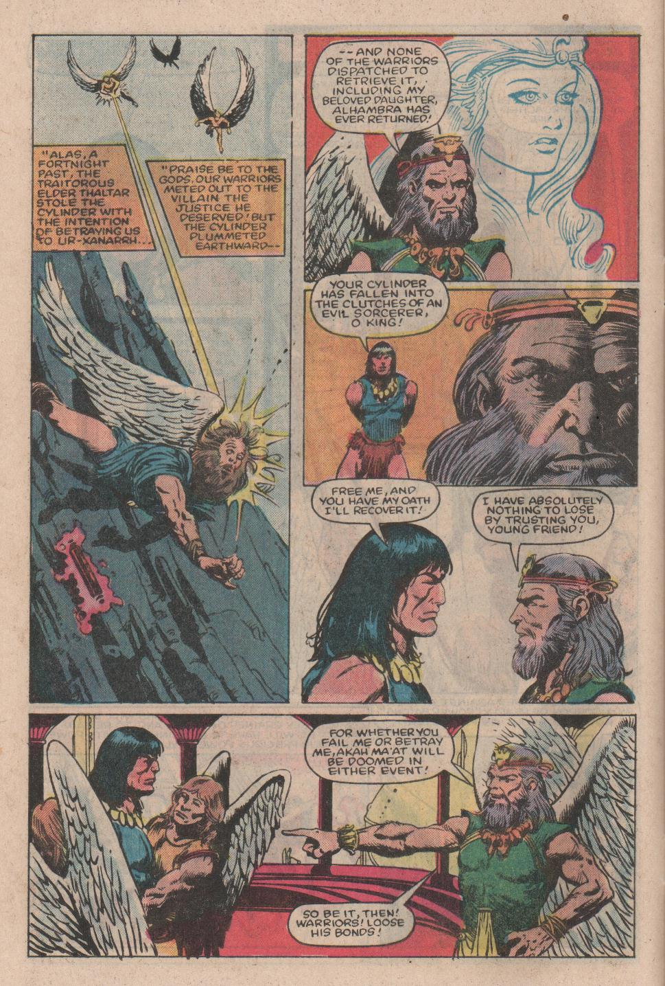 Conan the Barbarian (1970) Issue #154 #166 - English 9
