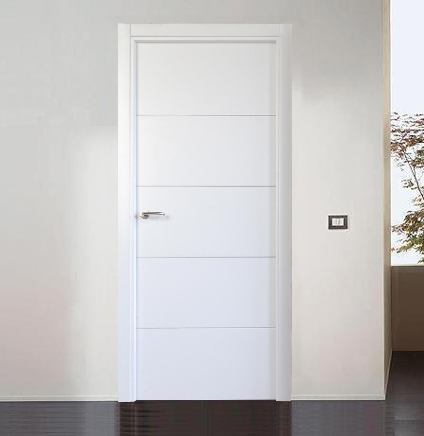 Puertas de paso sin obra carpinteros en m laga y Precio puertas de paso