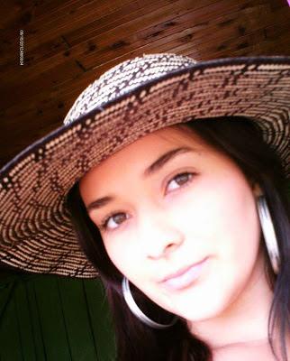 Chica sencilla de Colombia